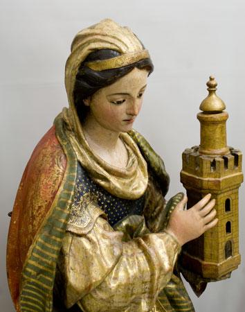 Escultura Santa Bárbara