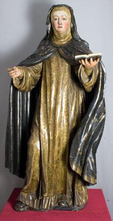 Escultura Santa Brígida