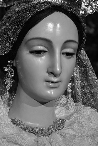 Rostro de Santa María de la O Gloriosa