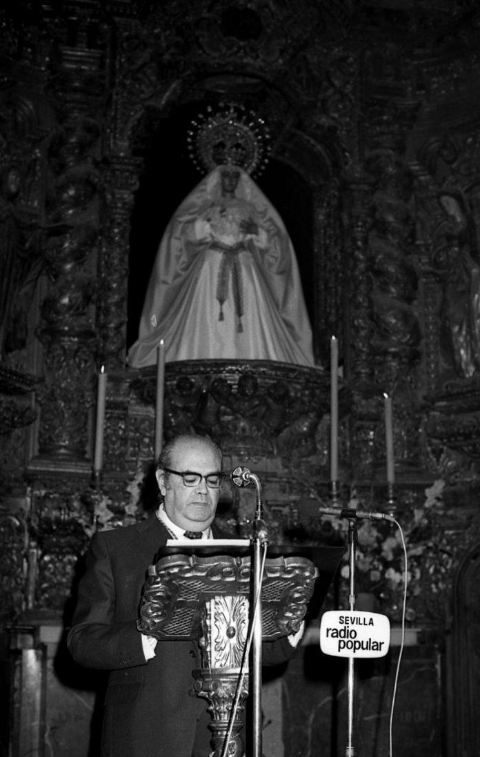 Pregón de la Esperanza 1981. José Sánchez Dubé.