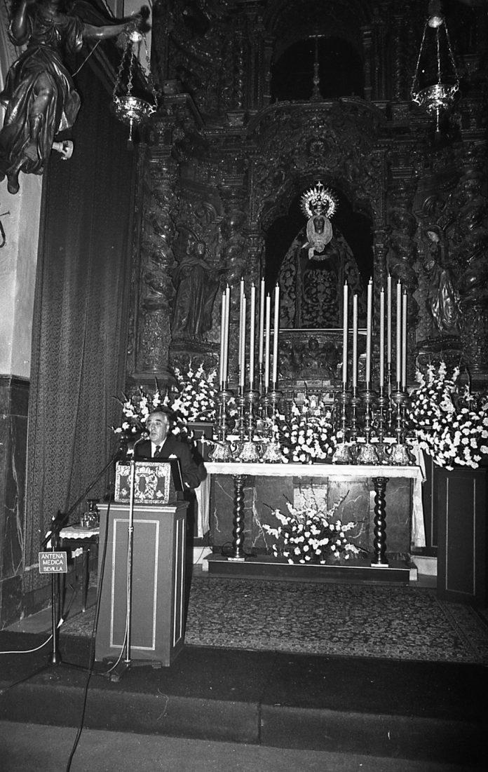 Pregón de la Esperanza 1987. Rafael Duque del Castillo.