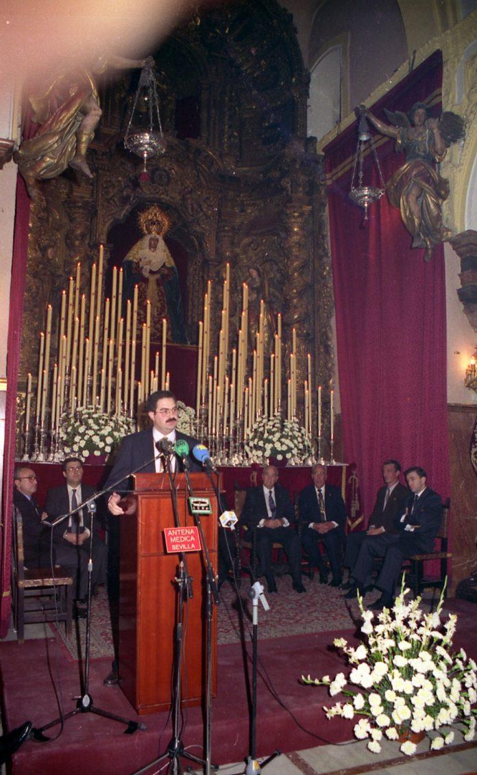 Pregón de la Esperanza 1993. Antonio Silva de Pablos.