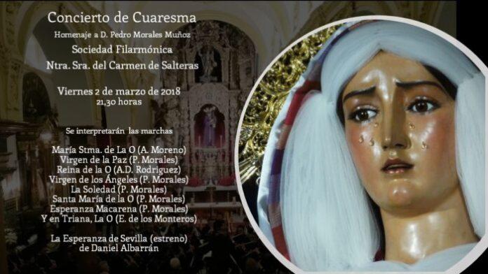 Concierto de Cuaresma 2018 de la Banda del Carmen de Salteras