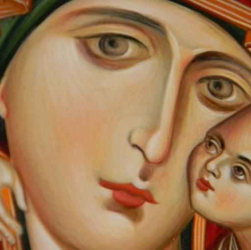 Icono Virgen con el niño