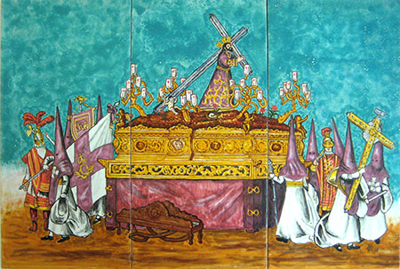 Azulejo de litografia Grima