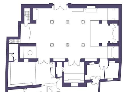 Distribución del templo