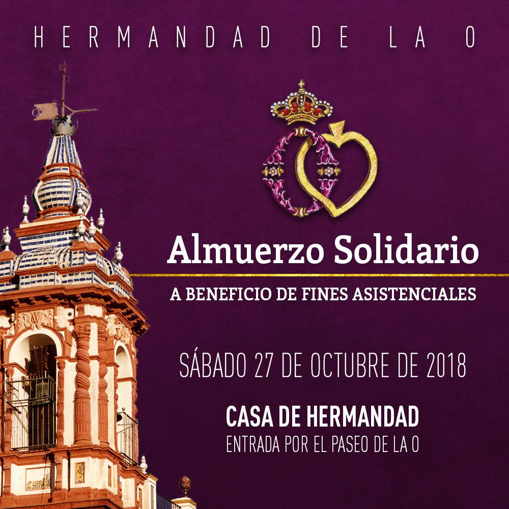 Almuerzo Solidario (27 octubre)