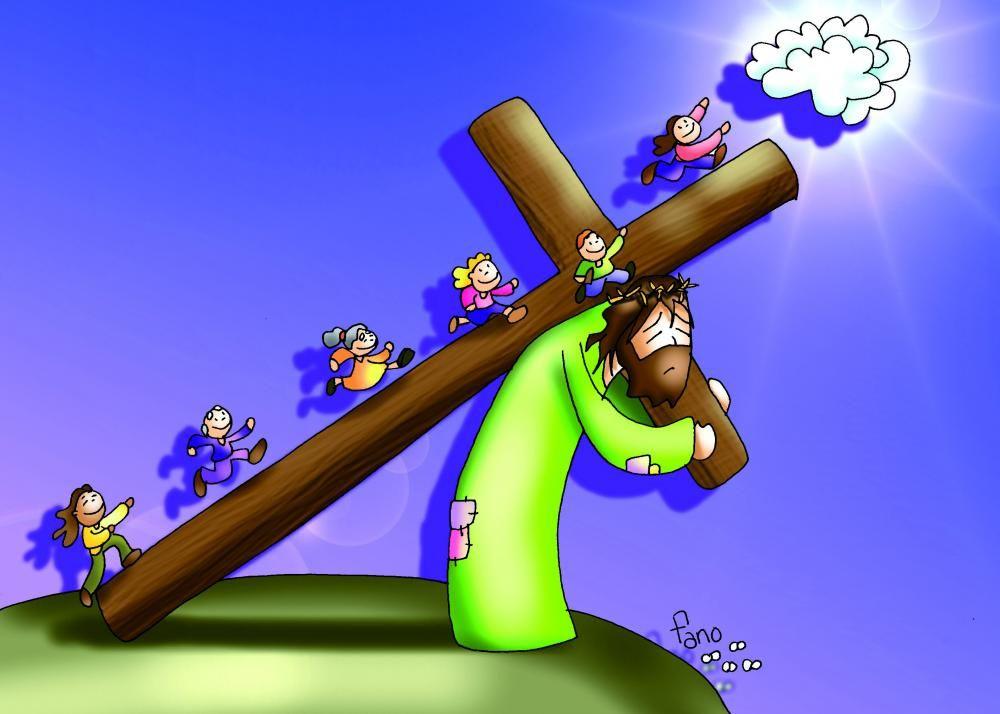Tu Cruz nos lleva al Cielo