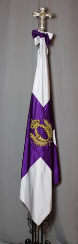 Bandera Morada