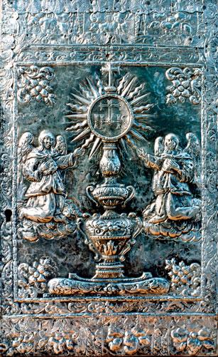 Puerta Tabernáculo A. Mayor