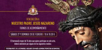 Veneración Jesús Nazareno 2021