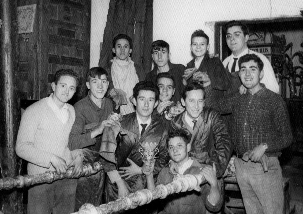 Juventud de la O en la priostia de los 70