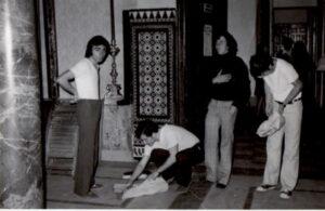 Preparando el Costal Enero 1975