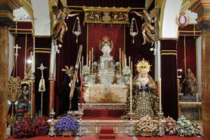 Altar del Jueves Santo de la Semana Santa de 2021