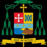 Escudo de Armas de Monseñor José Angel Saiz Meneses