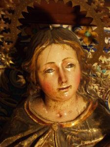 Rostro Virgen María
