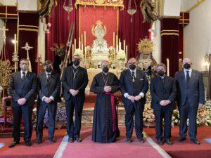Visita de Nuestro pastor, el señor arzobispo de Sevilla, D. Juan José Asenjo Pelegrina