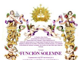 Función Solemne Conmemorativa del XIV aniversario de su Coronación