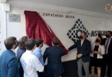 Inauguración Calle Capataces Ariza